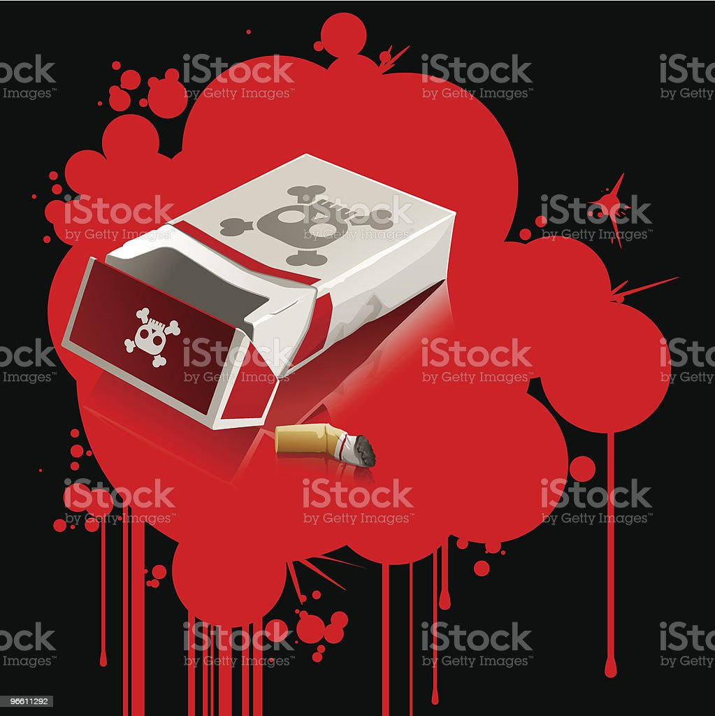 Smoke Kills (vector) royalty-free smoke kills stock vector art & more images of alertness