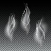 Smoke waves transparent