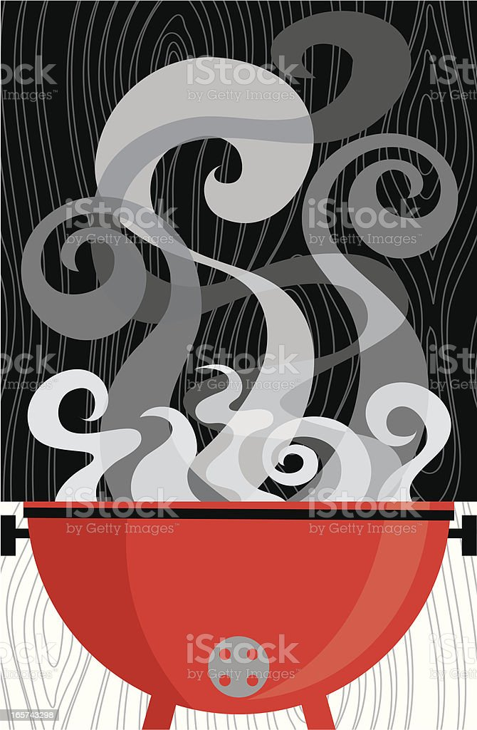 Smokin Barbecue royalty-free smokin barbecue stock vector art & more images of barbecue