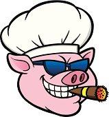 istock Smoking BBQ Pig 481764627