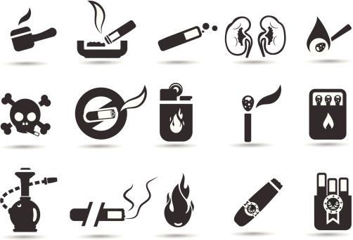 Smoking Icon Set
