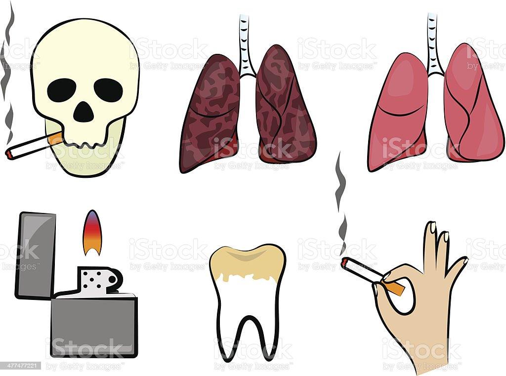 Smoking kills royalty-free smoking kills stock vector art & more images of addiction