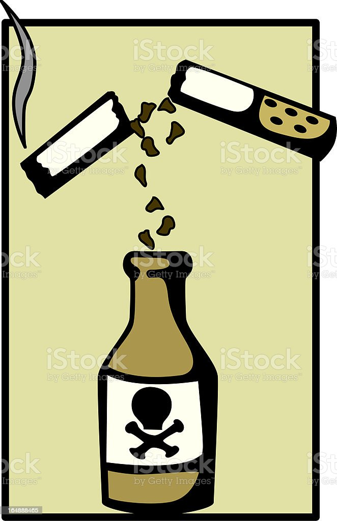 smoking poison royalty-free smoking poison stock vector art & more images of addiction