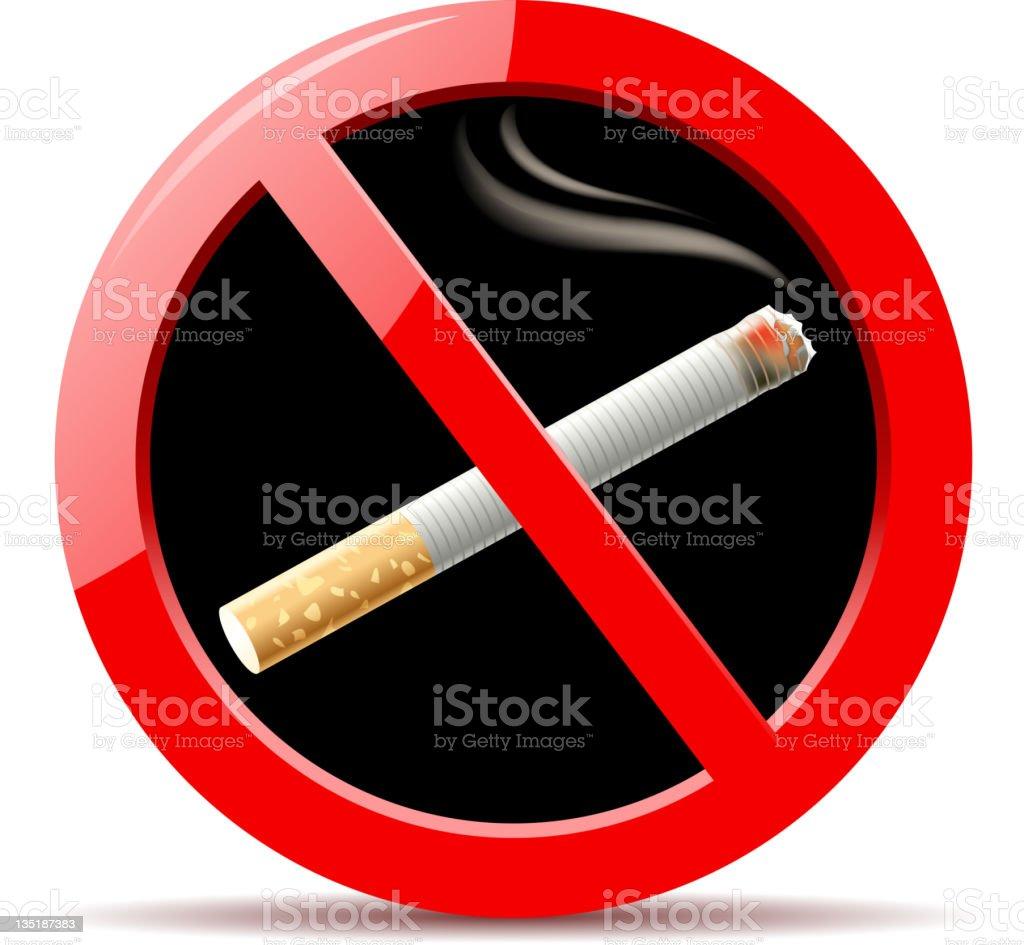 smoking symbols royalty-free stock vector art