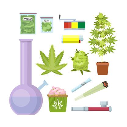 Smoking weed equipment