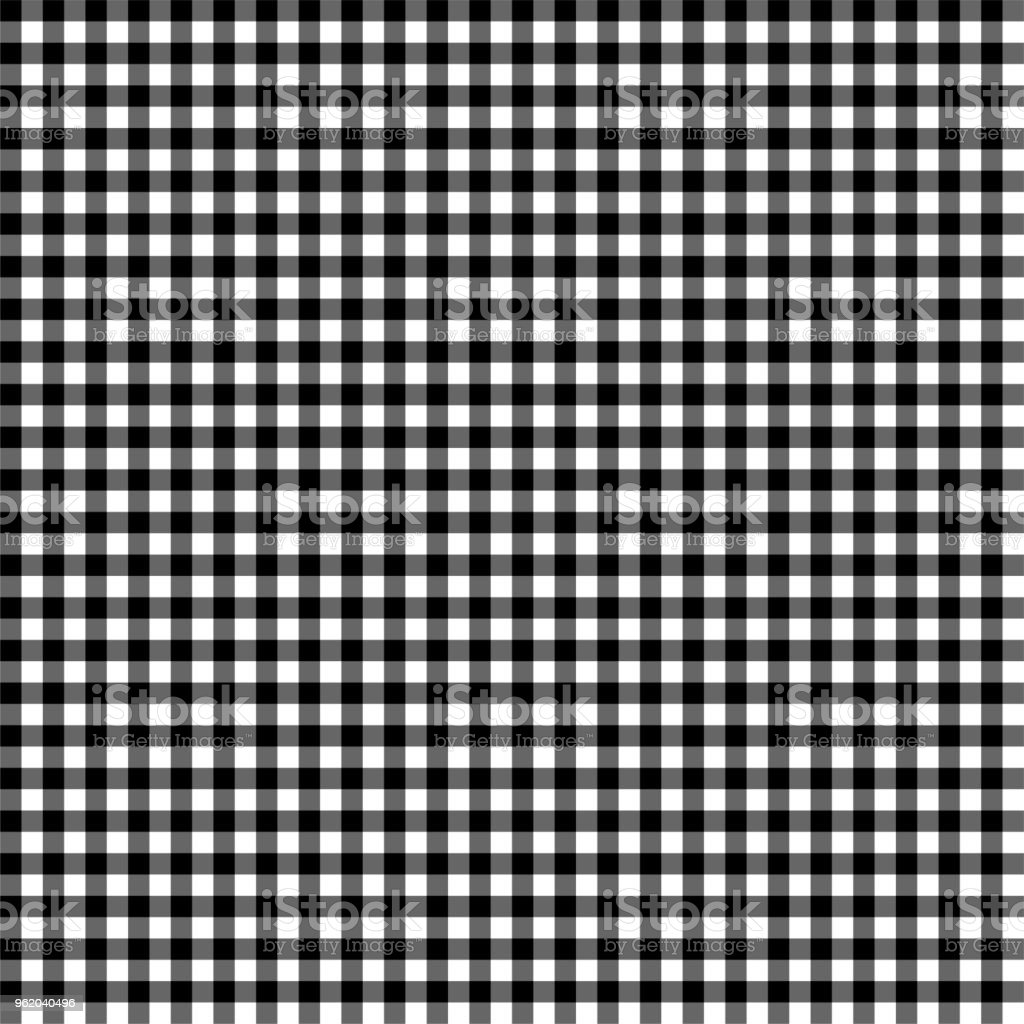 Smooth Gingham Seamless Pattern vector art illustration