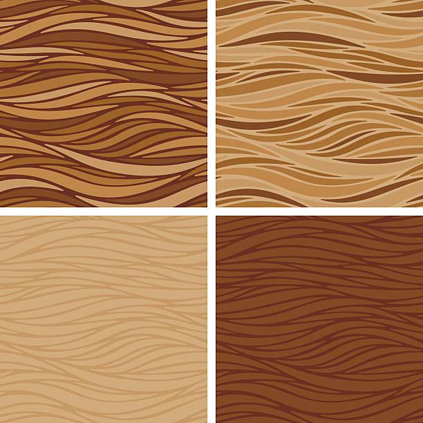 gładkie pasy kawa bezszwowe tekstury - cappuccino stock illustrations