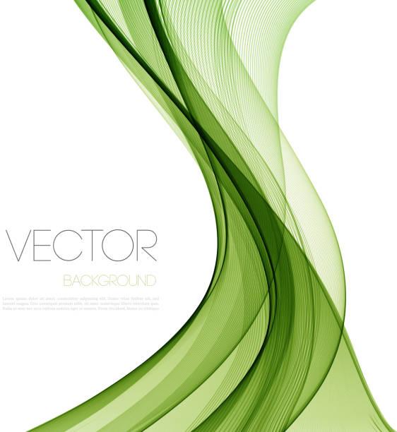 pürüzsüz dalga akışı satır soyut üstbilgi düzeni. vektör çizim - çevre koruma stock illustrations