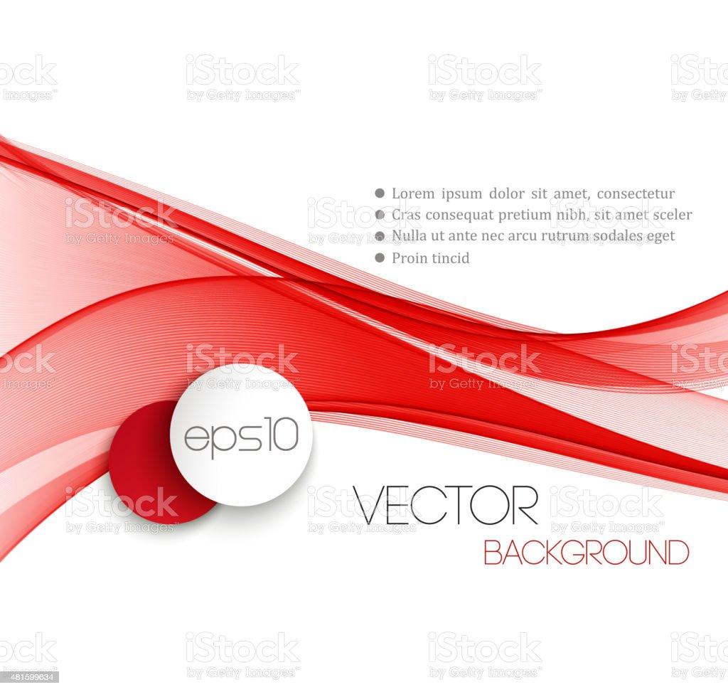 Smooth wave stream line abstract header layout. Vector illustration vector art illustration