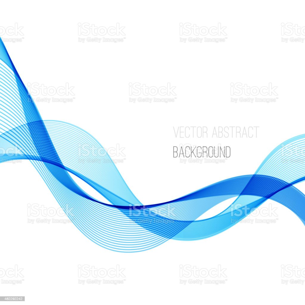 smooth wave stream line abstract header layout vector illustration rh istockphoto com wave vector image wavevector