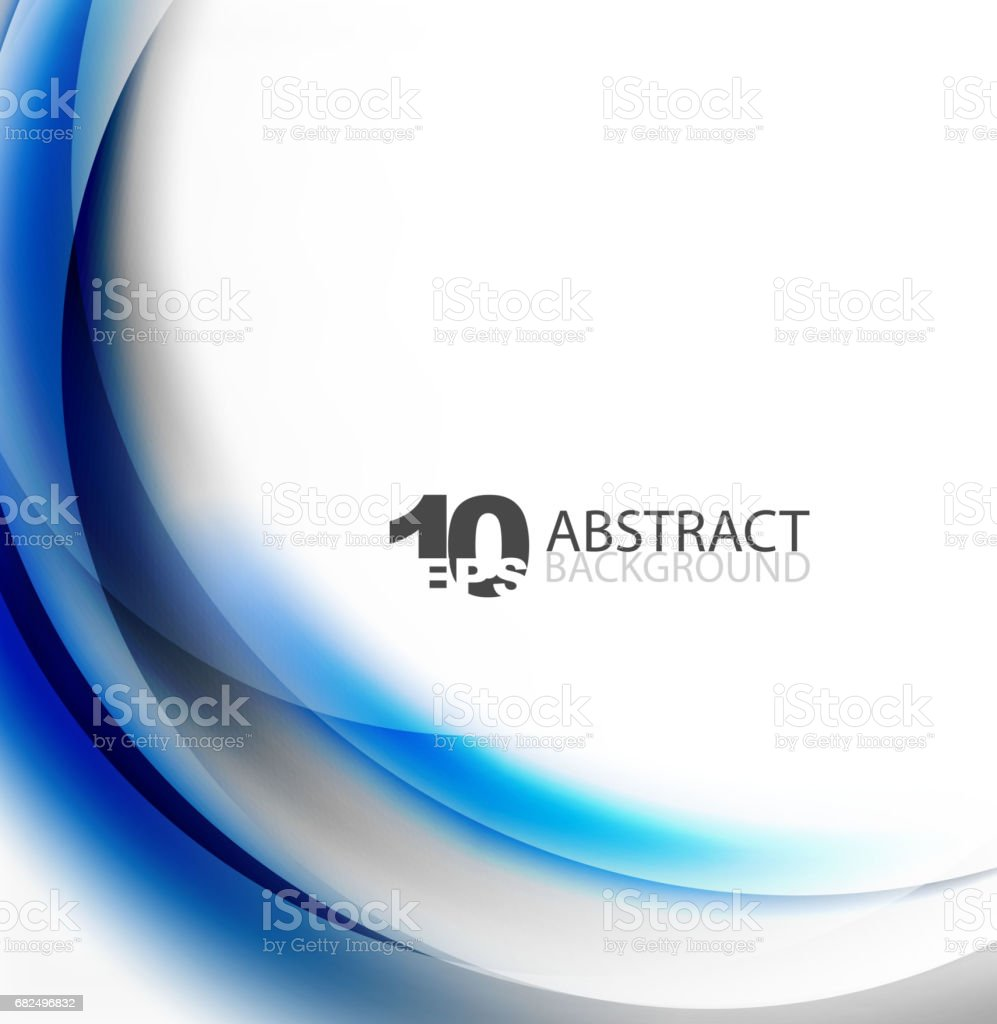 Smooth wave template smooth wave template - immagini vettoriali stock e altre immagini di acqua fluente royalty-free