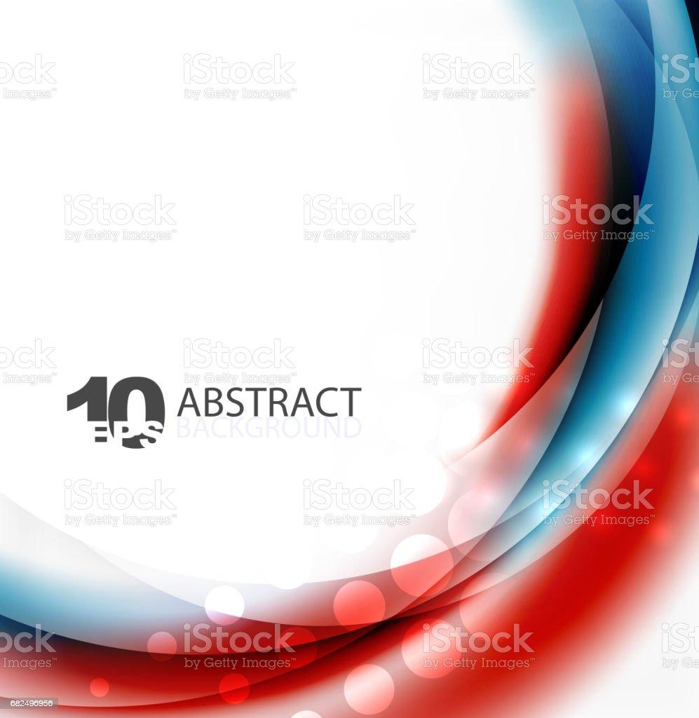 Smooth wave template ilustración de smooth wave template y más banco de imágenes de abstracto libre de derechos