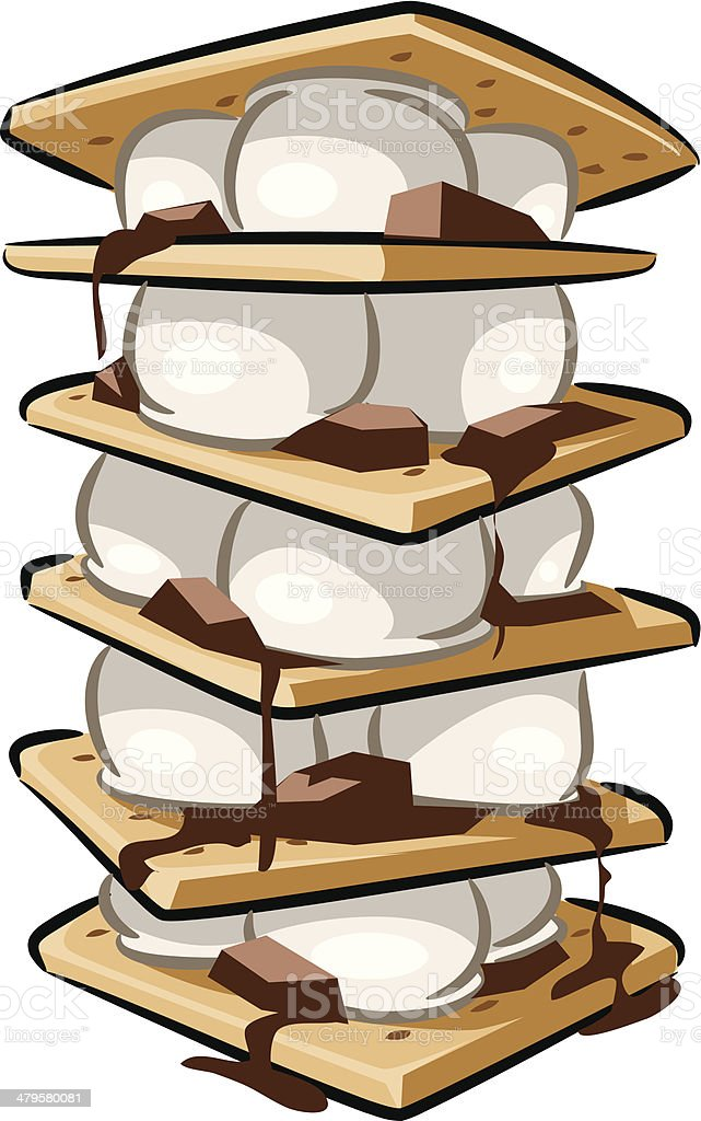 royalty free smore clip art vector images illustrations istock rh istockphoto com Campfire Clip Art Roasting Marshmallows Clip Art