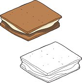 Smores Cartoon