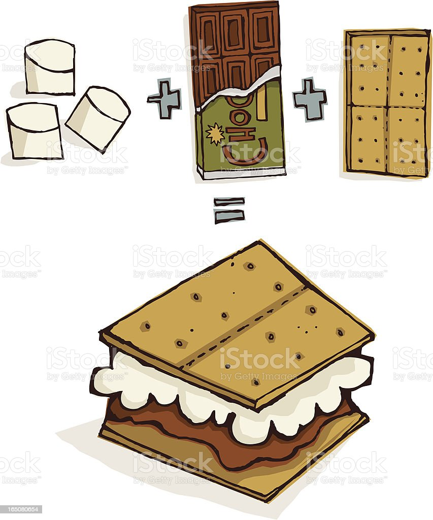 royalty free smore clip art vector images illustrations istock rh istockphoto com Campfire S'mores smores clipart free