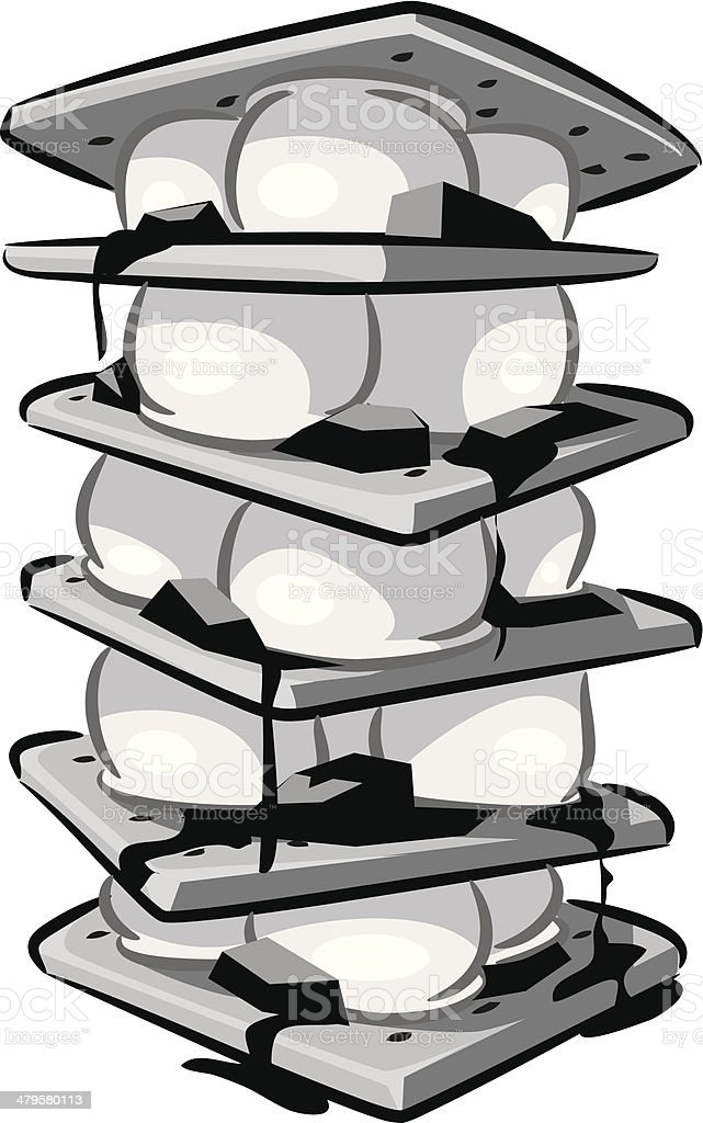 royalty free smore clip art vector images illustrations istock rh istockphoto com smores clipart black and white smores clipart black and white