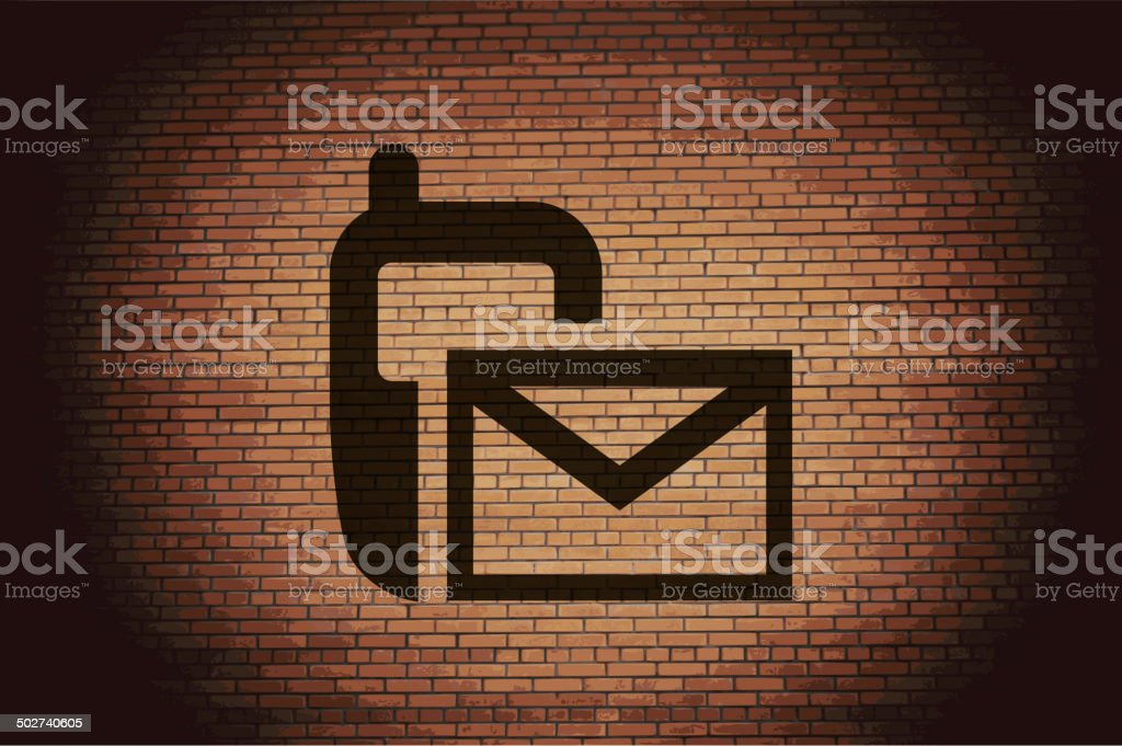 Sms. Flat modern web button and space for your text. royalty-free stock vector art
