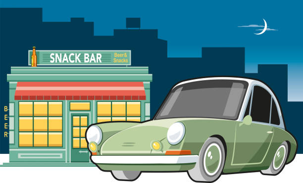ilustraciones, imágenes clip art, dibujos animados e iconos de stock de bar - small business saturday