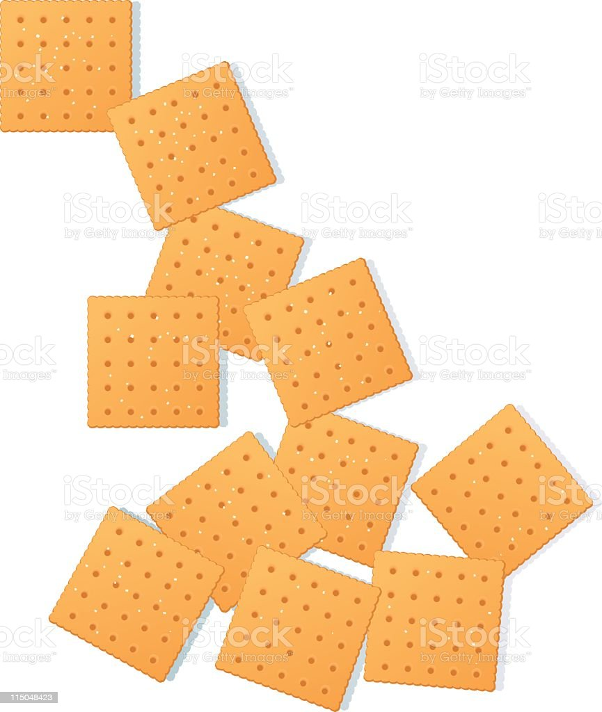 Snack Crackers royalty-free snack crackers stock vector art & more images of clip art