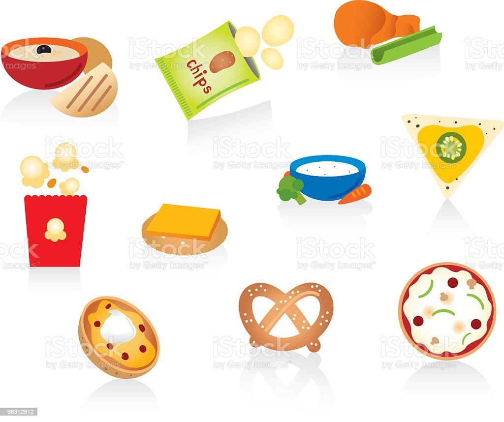 Snack Snacks – Vektorgrafik