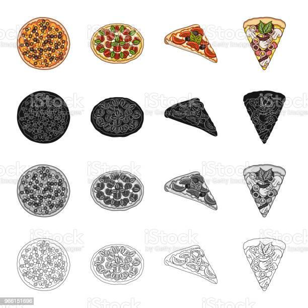 Snack Zutaten Ration Und Andere Websymbol Im Cartoonstil Pizza Essen Behandelt Symbole Im Set Sammlung Stock Vektor Art und mehr Bilder von Café