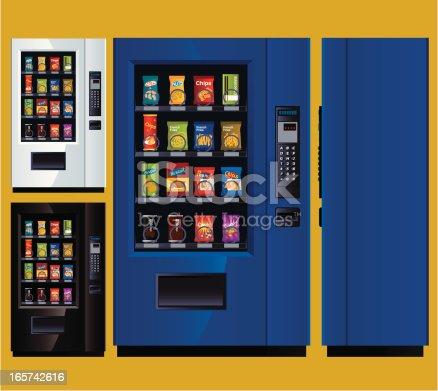istock Snack Vending Machine 165742616