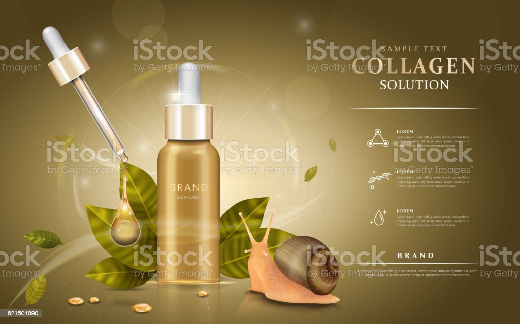 Snail extract cosmetic ads snail extract cosmetic ads - immagini vettoriali stock e altre immagini di bambino royalty-free