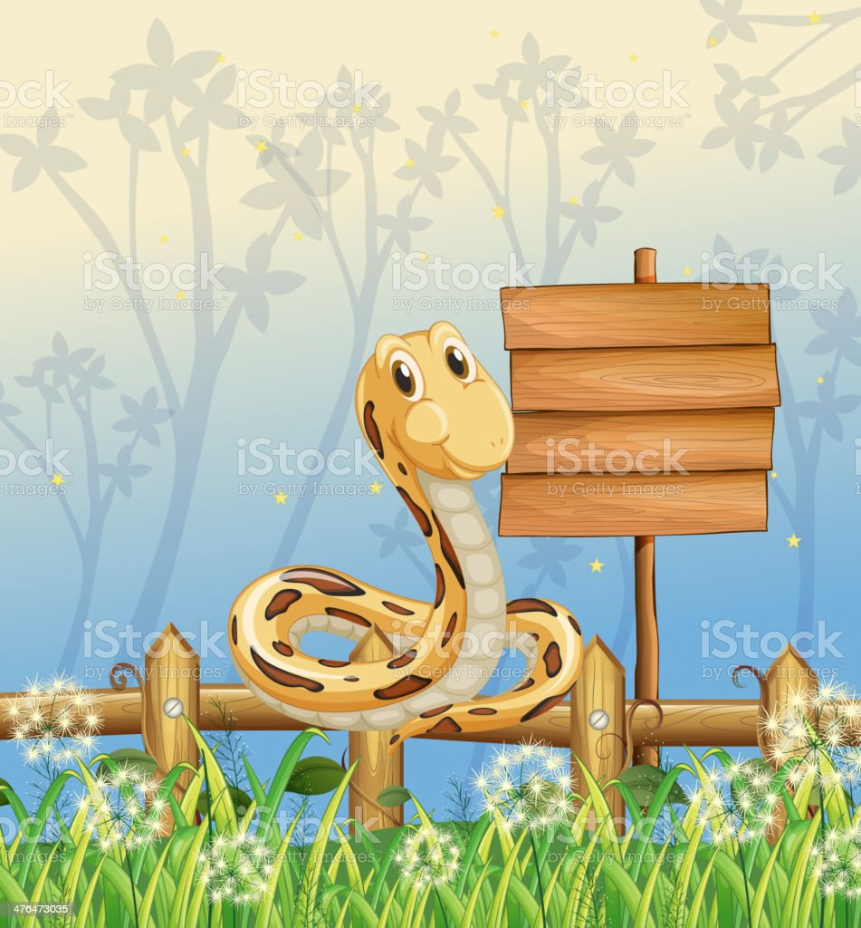 snake at the fence royalty-free snake at the fence stock vector art & more images of animal