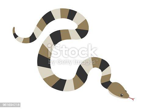 Snake illustration.