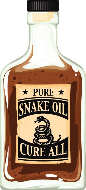 snake oil bottle