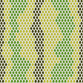 Snake skin seamless pattern. Vector background Leather  reptiles