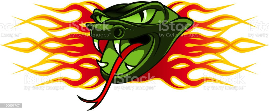 Snake tattoo royalty-free stock vector art