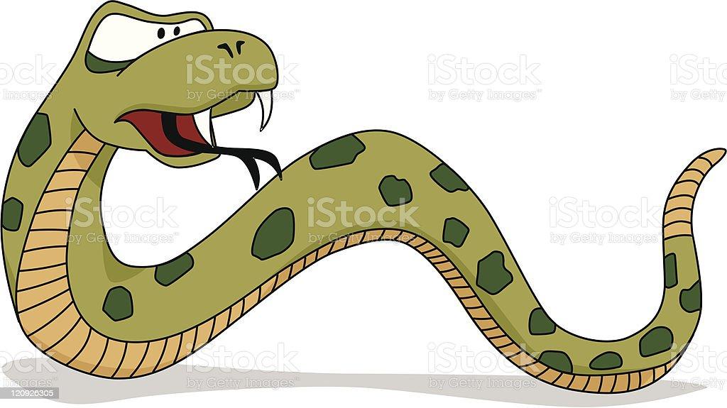 Snake vector art illustration