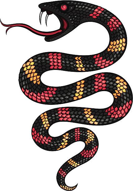 スネーク - ヘビ点のイラスト素材/クリップアート素材/マンガ素材/アイコン素材