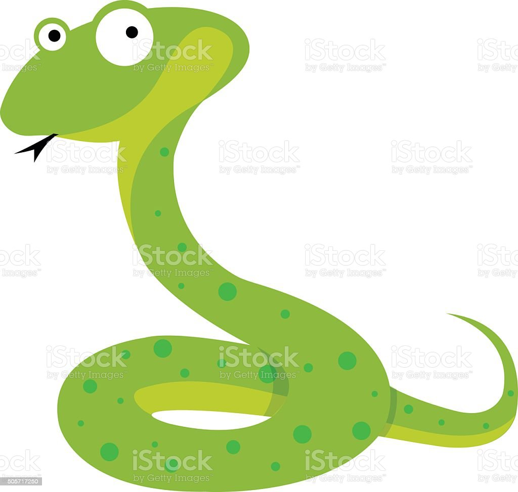 Snake vector art illustration