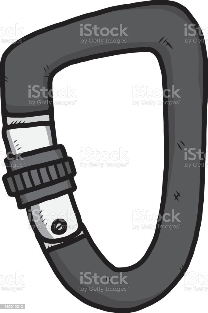 snap hook Lizenzfreies snap hook stock vektor art und mehr bilder von ausrüstung und geräte