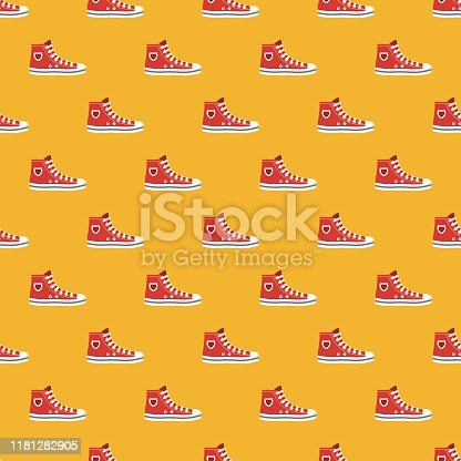 istock Sneaker Clothing & Accessories Pattern 1181282905