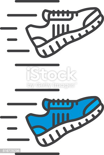 istock Sneakers Icon 516725296