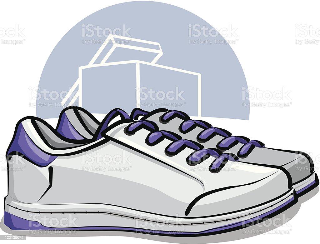 sneakers royalty-free stock vector art