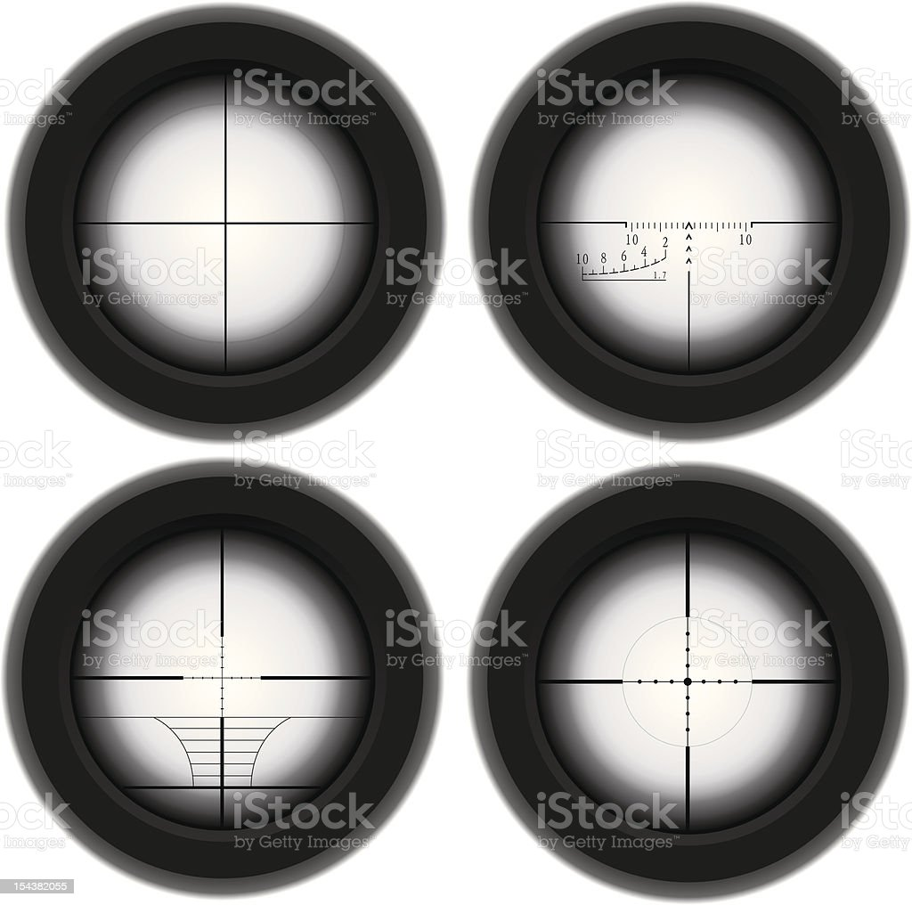 Sniper optical sight royalty-free sniper optical sight stock vector art & more images of aiming