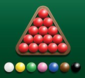 Snooker Set Rack
