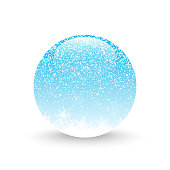 Snow ball illustration