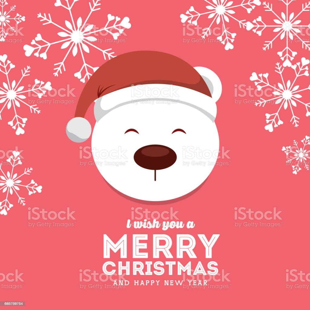 snow bear icon. Merry Christmas design. Vector graphic snow bear icon merry christmas design vector graphic - immagini vettoriali stock e altre immagini di agrifoglio royalty-free