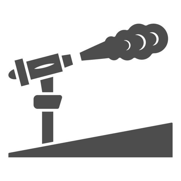 kar topu katı simgesi, dünya kar günü konsepti, kayak merkezi ve beyaz arka plan üzerinde ekipman sembolü, mobil konsept ve web tasarımı için glyph tarzında kar makinesi simgesi. vektör grafikleri. - mountain top stock illustrations