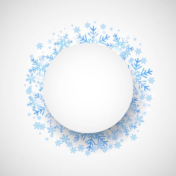 Schnee fallen. Weihnachten und winter Themen-Hintergrund. – Vektorgrafik