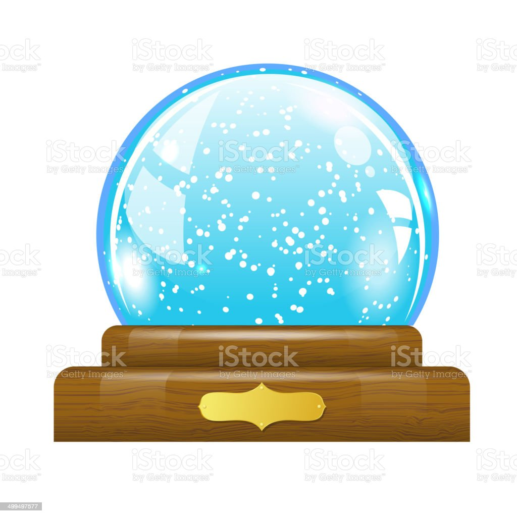 Snow globe royalty-free snow globe stock vector art & more images of abstract