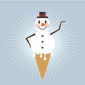 Snowman concept. Please see some similar pictures in my lightboxs: