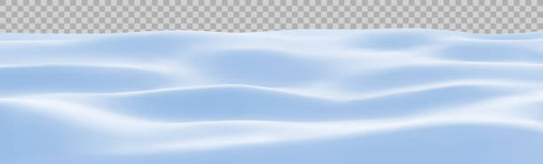 Snow landscape. Winter snowy background. Snowdrift, vector. Snow landscape. Winter snowy background. Snowdrift, vector illustration. snowdrift stock illustrations