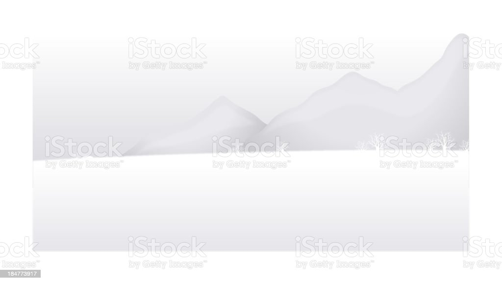 Snow mountain landscape royalty-free snow mountain landscape stock vector art & more images of backgrounds