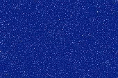 White dots on dark blue background